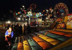 Bloomsburg Fair (searchlight557) Tags: longexposure night fun nikon action fair carnaval bloomsburgfair slowshutterspeed