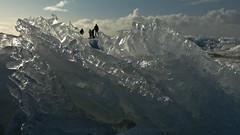 Top of the World (sendepause @ vanderlaan.fotografeert) Tags: ice coast ijsselmeer 2012 kust kruiendijs 201202 20120219 201002190651