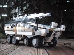 Tank Hunter (3) (BigDaedy) Tags: tank lego boxer hunter railgun ifv