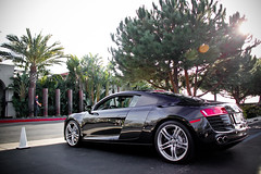 Zest. (AESDUB) Tags: black silver rims r8 coolcarexoticexpensive400 000sixtynine69sexnicetitsoncars
