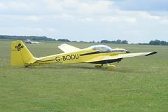 G-BODU ~ 2009-06-19 @ Gransden (2) (CVT-wings) Tags: airpla