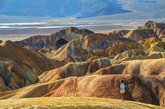 Zabriskie Point at Death Valley (nebulous 1) Tags: california mountains nature landscape nationalpark nikon desert hills explore minerals deathvalley 12 zabriskiepoint 2012 feb21 ancientlake borates nebulous1