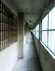 Long Hallway (Alcatraz Cruises) Tags: sanfrancisco prison jail alcatraz therock touristattraction alcatrazisland alcatrazcruises