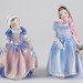 408. (2) Vintage Royal Doulton Figures of Young Girls