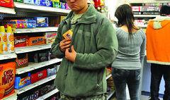 Shoplifting at Exchange costs military in many...