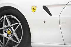 Ferrari (    , ) Tags: white cars car yellow speed canon photography doha qatar t3i qtr   600d   ameera flickrsbest   q6r    amoora             canon600d