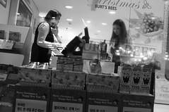 Merry Christmas (Paul Jung E) Tags: nightphotography blackandwhite 35mm ambientlight candid streetphotography documentary seoul fujifilm southkorea x100 pauljungefujifilmx100blackandwhite35mmdocumentarynightphotographyambientlightcandidstreetphotographyseoulsouthkoreapauljunge