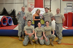 WWE Champion Wrestler Beth Phoenix visits Scappoose High with Oregon National Guard PHAT Team (Oregon National Guard) Tags: students army wrestling nationalguard soldiers wwe oregonnationalguard bethphoenix theglamazon scappoosehighschool