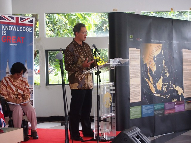 British Ambassador Delivers a Speech on the Impact of Climate Change
