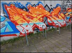 Ogre (SÖKE) Tags: street urban terrain streetart art colors wall fleurs painting lost graffiti paint artist couleurs tag letters style spot spray peinture painter graff mur bombing abandonned lettres graffeur banlieue photographe abandonné graphotism vierge soke lieu friche batîment
