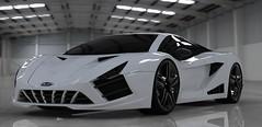 2012 Genesis Render #10 (ShimmyDesign) Tags: car design google sketchup concept genesis supercar 2012 shimmy supersports keyshot
