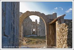 VILLAGE DE BARGEME VAR (PUIGSERVER JEAN PIERRE) Tags: ruine chteau