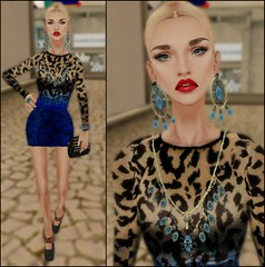 LOTD35 (Sery Darkrose) Tags: portrait italy girl beauty look fashion photo blog day dress skin style blogger monde paperbag itgirl haut the of hluzza giftsecondlife