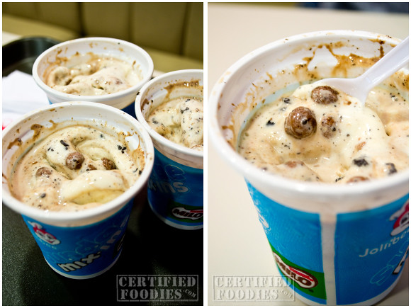 Our cups of Jollibee Sundae Mix-ins Milo Blast - CertifiedFoodies.com