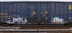 rek  ?? (INTREPID IMAGES) Tags: street railroad abstract color art train bench graffiti fan paint kentucky steel painted sony graf tracks rail railway trains tags images railcar intrepid boxcar graff railfan freight rolling csx rek gr8 paintedtrains fr8 railbox benching railroadgraffiti paintedsteel railer intrepidimages