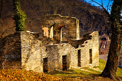 Ruins. (JCNixonPhoto) Tags: railroad church harpers ferry md ruins ruin maryland wv westvirginia harpersferry hdr ruined photomatix