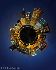 Chicago as a Separate Planet (bettyeich) Tags: chicago night cityscape newworlds separateplanets
