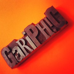 gariphic_woodtype (gariphic) Tags: