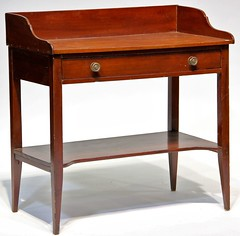 72. Antique Sheraton Wash Stand