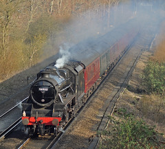 44932 - 1Z84 - Haywards Heath (Matthew Price Photography.) Tags: br haywardsheath engine steam locomotive express passenger railtour lms stanier black5 hhe 44932 1z84