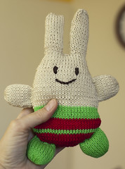 gebreid konijn (Marachtig) Tags: dolls crochet pop haken poppetje etui glassesholder haakwerk briletui crochetdolls
