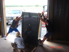 """Moving a Fort Knox safe • <a style=""""font-size:0.8em;"""" href=""""http://www.flickr.com/photos/77680067@N06/7027393011/"""" target=""""_blank"""">View on Flickr</a>"""