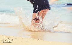 Splash sea (ميـسـآء بنت عبـدالـلـﮧ ツ) Tags: sea canon flickr cam splash maisa عبدالله بنت صوره 600d بحر فلكر كام كاميرا كانون ميساء سبلاش المصوره