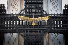 Golden Crane (Pete Woodhead) Tags: detail monument golden crane ukraine kyiv eternalglorypark victimsofthegreatfamine