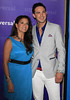 Dina Eastwood, Emile Welman attending the NBC Universal Summer Press Day, held at The Langham Huntington Hotel and Spa Pasadena, California
