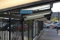 Metra - CTA intermodal connection (urbanimage5) Tags: cta lasalle metra intermodalconnection