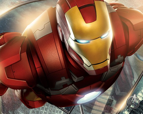 Iron Man The Avengers movie art by marvelousRoland, on Flickr