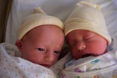 Together (Monkey Tennis) Tags: uk baby hospital twins bath birth olive sadie ruh daugthers