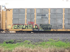 Grizwald Dagr (GraffStoleMyLife) Tags: train graffiti mark tag rip piece freight griz tko dagr grizwald