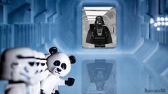 hello :D (black.zack00) Tags: hello fun starwars funny panda ship lego stormtrooper inside darthvader darkvador