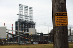 Caution (C_Dubyaa) Tags: park chicago dogs children do play please no east litter vehicles caution british motor alcoholic bp refinery beverages whiting petroleum unleashed chicagoist