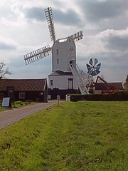 Saxtead Green Post Mill, Framlingham Suffolk. 05 04 2014 (pnb511) Tags: green mill rural suffolk post east anglia englishheritage saxtead