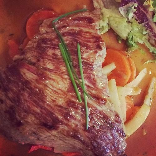 La bavette de #veau, l'essayer ...c'est l'adopter ;) #foodreporter