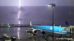 You don't need a fancy camera to be a photographer. This was taken on my mobile phone. #lightning #airport #rain #nature #mobileupload (Nidhi Prakash) Tags: nature rain airport lightning mobileupload