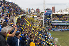 Boca Juniors - River Plate (morten f) Tags: game argentina field corner river j la football buenos aires soccer police plate player alberto estadio match juniors bara armando boca barra brava derby league throw supporters shields protect ultras bombonera 2016 cabj superclasico