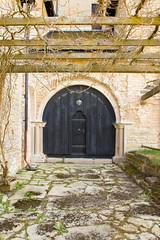 Vreta kloster (Yvonne L Sweden) Tags: spring sweden may linkping pergola vr kyrkdrr churchdoor vretakloster