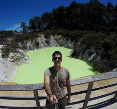 Wai-O-Tapu, Rotorua, New Zealand (flyingdutchmanpat) Tags: newzealand green pool rotorua nz hulk thermal waiotapu thermalwonderland