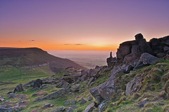 Sunset from the Wainstones. (paul downing) Tags: sunset nikon bank 12 filters teesside hitech hasty clevelandhills wainstones gnd pd1001 pauldowning d7200 pauldowningphotography