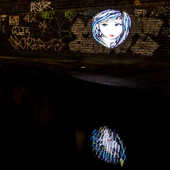 6N2A5523 (karl101) Tags: light reflection water night canal led