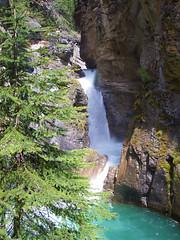 Johnston Canyon Waterfall (bmay4real) Tags: canada waterfall hiking hike alberta johnstoncanyon