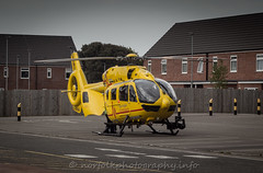 Day 138: Air Ambulance (Howie1967) Tags: rescue air great ambulance east helicopter yarmouth hems anglian gresu ghemn ec135t2e