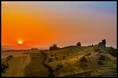 Sonnenuntergang an der Teufelsmauer / Harz / Germany (numi's motivkiste) Tags: sunset sky orange landscape natur himmel landschaft harz gebirge teufel teufelsmauer numis motivkiste numismotivkiste