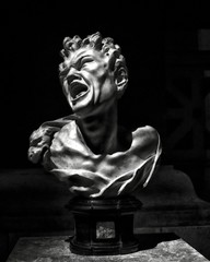 marsyas, balthasar permoser, metropolitan museum of art (twurdemann) Tags: newyorkcity blackandwhite newyork art night court shadows unitedstates manhattan torture marble satyr metropolitanmuseumofart anguish sulpture balthasarpermoser europeansculpture germanbaroque mondaymorningfilter carrollandmiltonpetrie xf1855mm fujixt1 2016tripnewyork