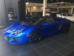 Blue Nethuns Aventador Roadster (OutOfTheShoeBox) Tags: italian lamborghini carbonfiber roadster lamborghinitroy aventador lp700 bluenethuns