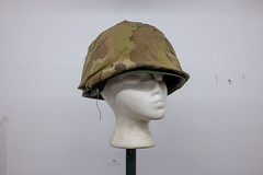 Miracle of American Museum (flippers) Tags: old usa museum america vintage weird us montana unitedstates military helmet retro american oldfashioned polson miracleofamericanmuseum