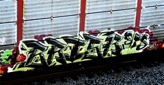 brisk (timetomakethepasta) Tags: brisk act sts freight train graffiti southern pacific autorack sp